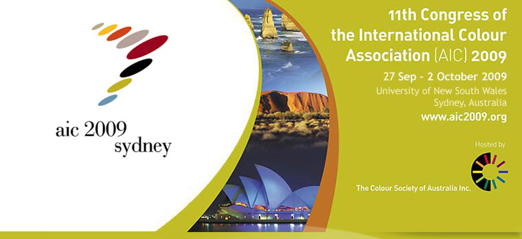 11th Congress of the International Colour Association (AIC) 2009